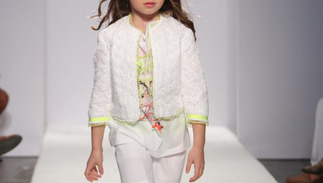 A Hint of Spring: petite PARADE/Vogue bambini NY Kids Fashion Week 2013
