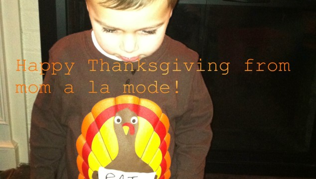 Wordless Wednesday: Thanksgiving Eve Edition