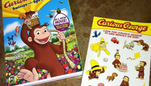 Curious George Swings into Spring: DVD Release