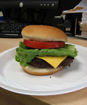 May is National Burger Month.  Rejoice!