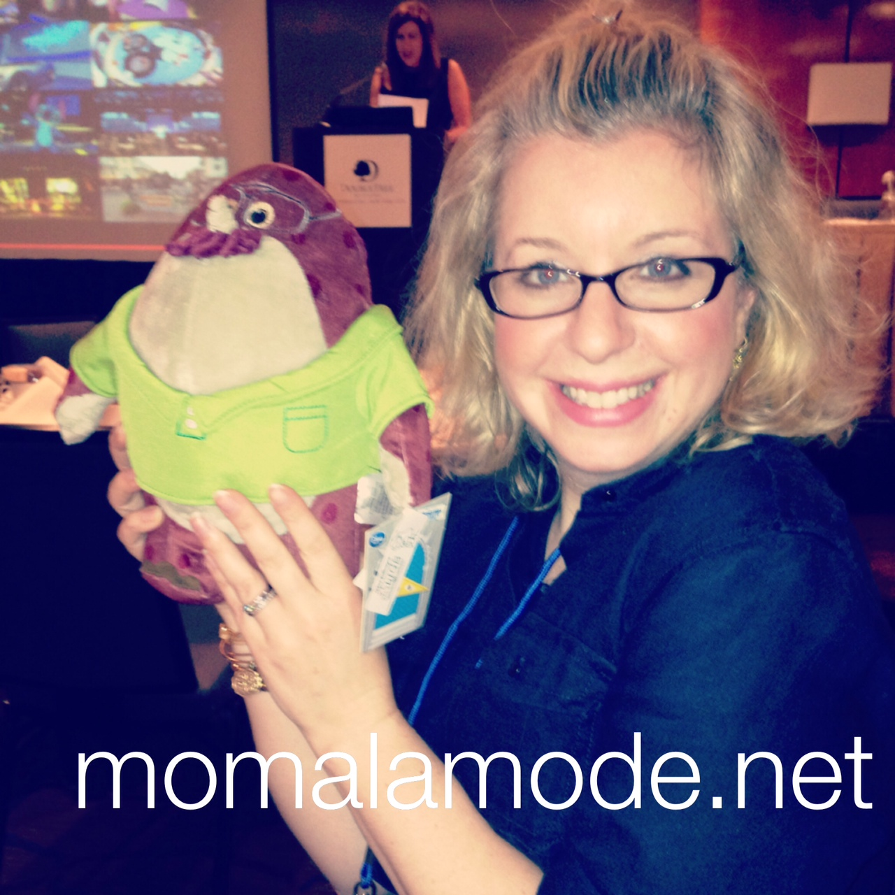 mom a la mode meets Don Carlton of Monsters Universtiy
