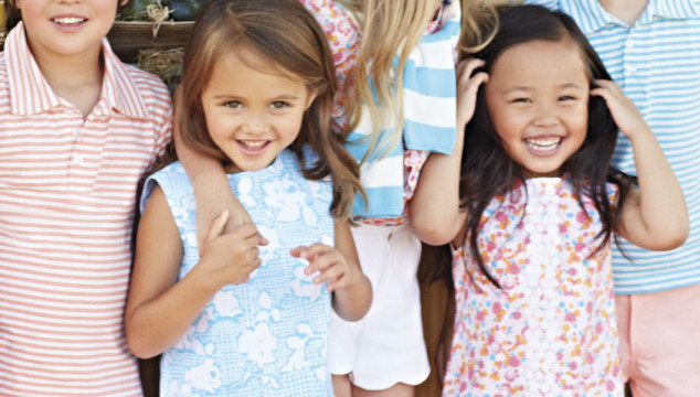 Kids Fashion Week: Oscar de la Renta Spring/Summer 14 Childrenswear Collection