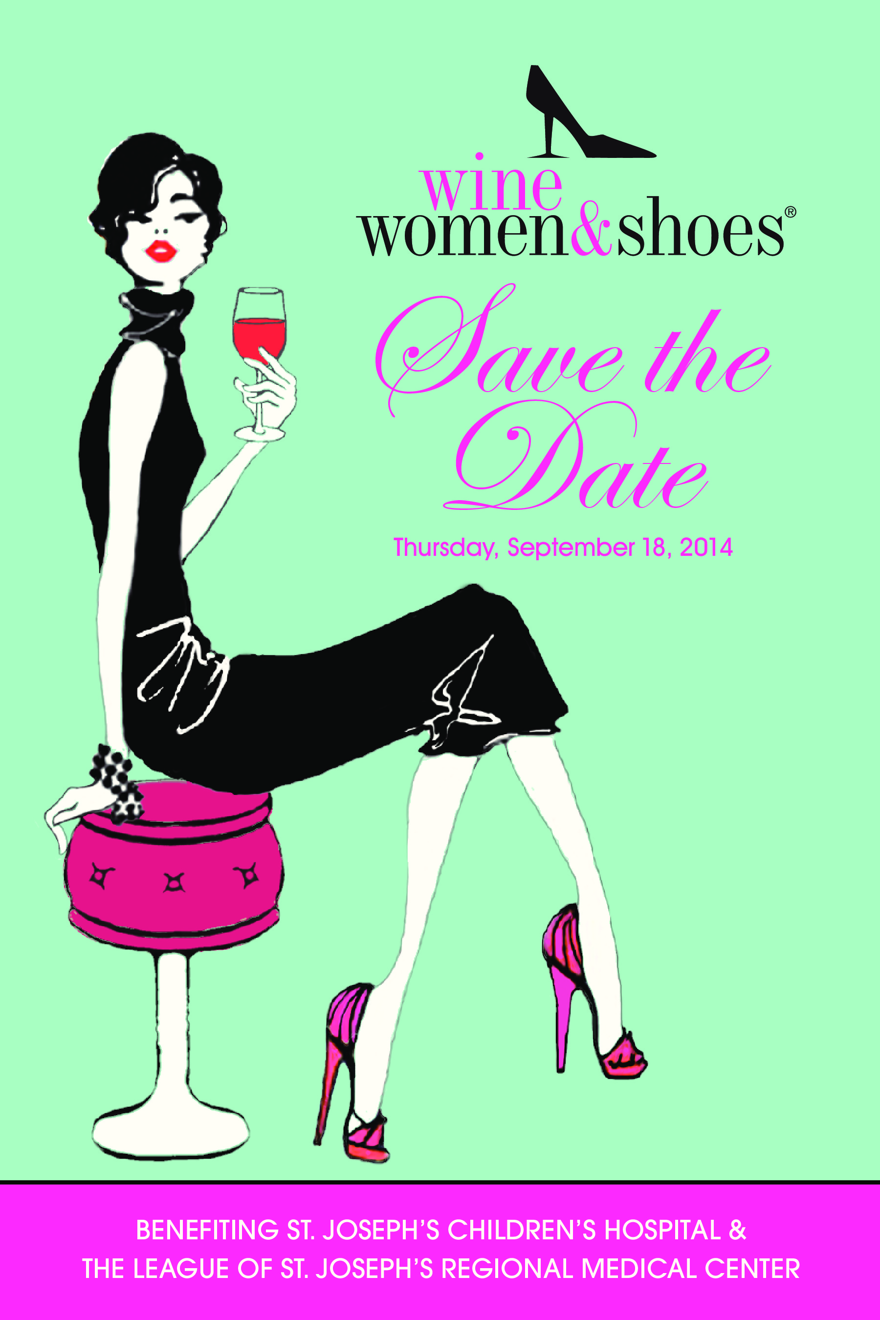 wine  women  u0026 shoes  a night out for a good cause with st