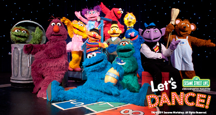 "Sesame Street Live ""Let's Dance!"" at Prudential Center {Ticket Discount & Giveaway Closed}"