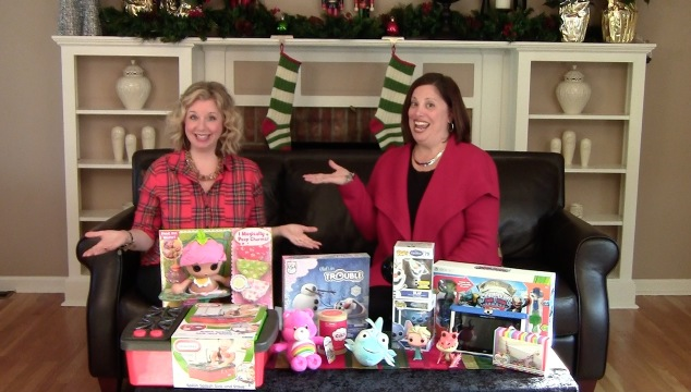 """Introducing """"Show and Tell with Deb & Lisa"""" Video Series: Holiday Gift Picks for Kids"""