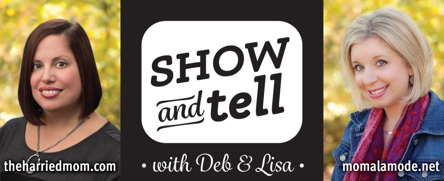 Show and Tell with Deb and Lisa logo