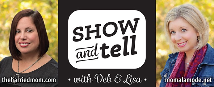 show and tell with Deb and Lisa.small