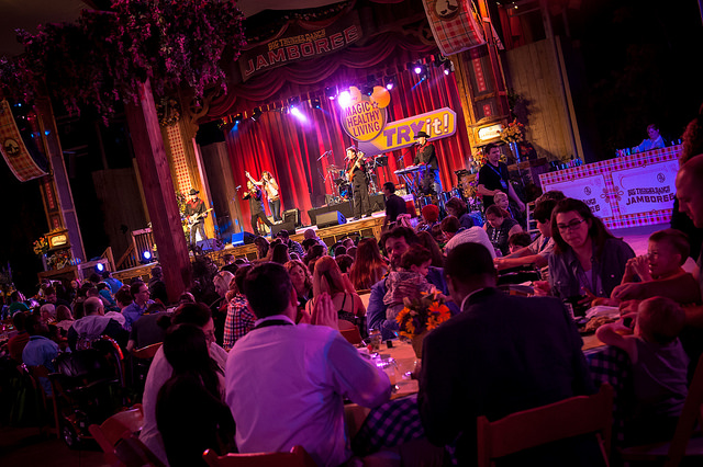 Private party in xxx (photo credit: Josh Hallett)