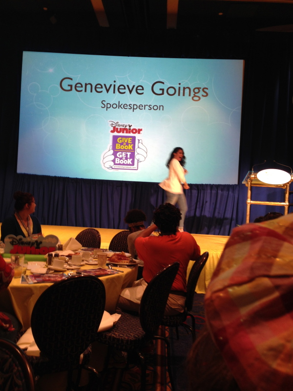 It's Genevieve from Choo-Choo Soul!
