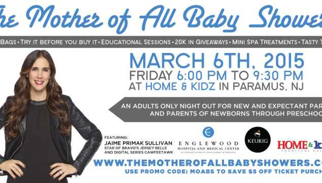 The Mother of All Baby Showers for Bergen County's Expectant and New Families: March 6th {Promo Code & Giveaway}
