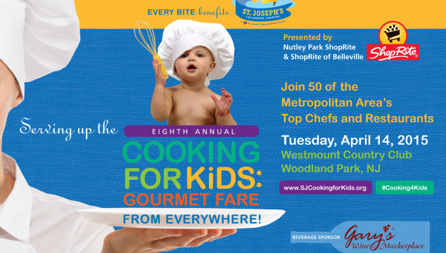 Save the Date for St. Joseph's Hospital 8th Annual Cooking for Kids Event