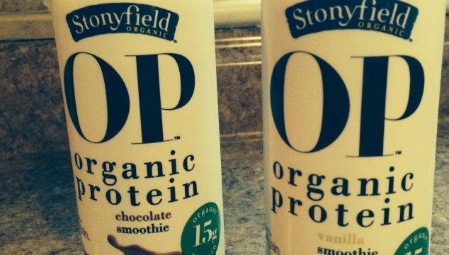 Getting Fit with Stonyfield Organic's OP Smoothie