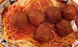 Spaghetti and The Flying Meatballs