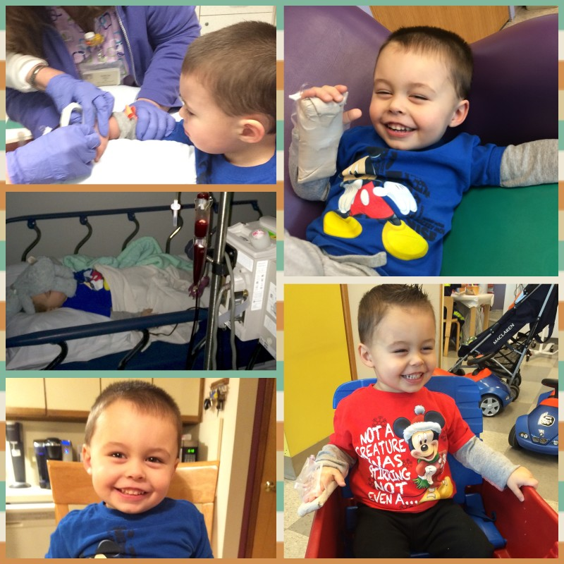 During his treatments, A.J. is still a ray of sunshine