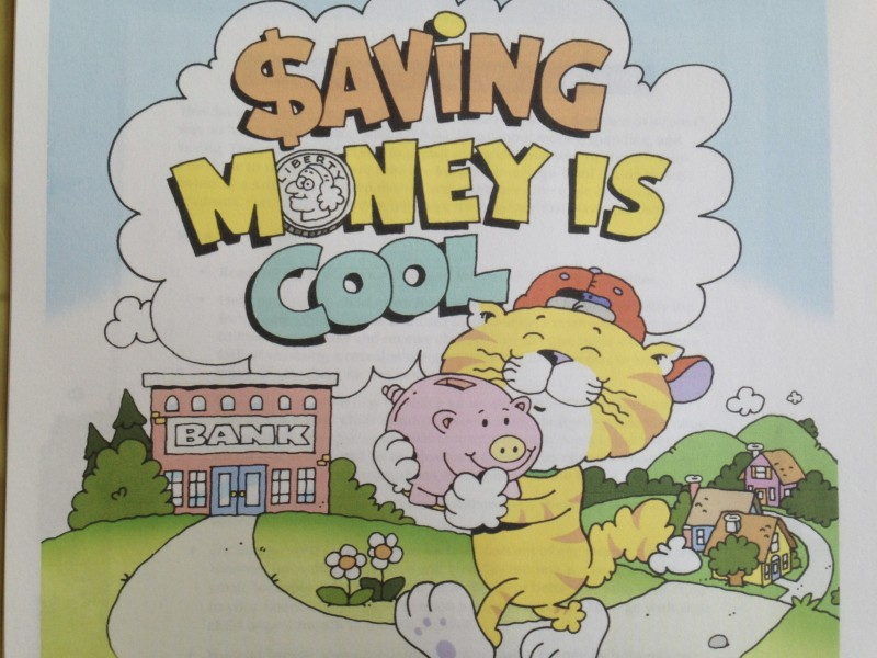 Saving Money is Cool Activity Book