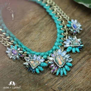 Chloe + Isabel statement necklace
