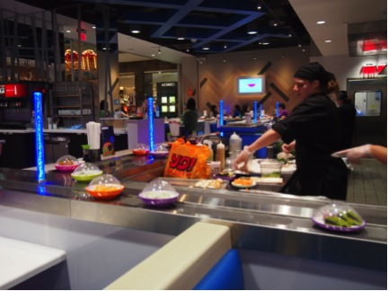 {Guest Post} Yo! Sushi Makes its US Debut at Garden State Plaza