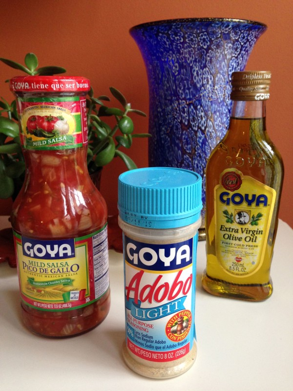 A few of the Goya products I was given to try