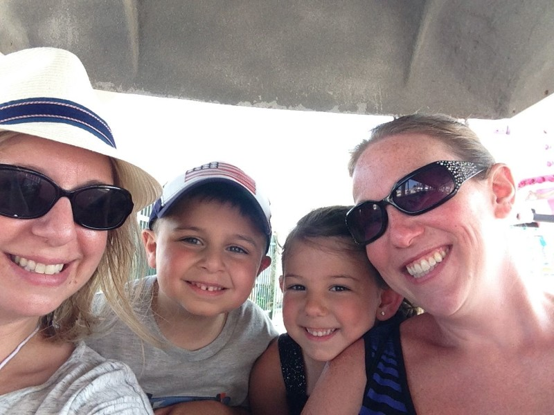 And ended our day with a few rides on the train!