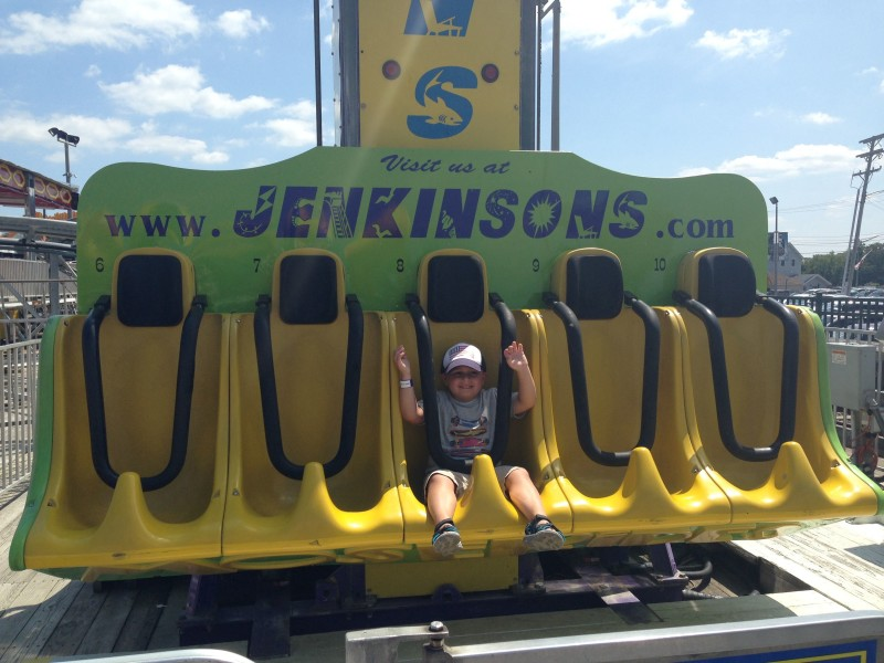 Roc absolutely loved this ride.  He went on it 5 times. Yes, 5 times….(a benefit of having an unlimited ride wristband!)