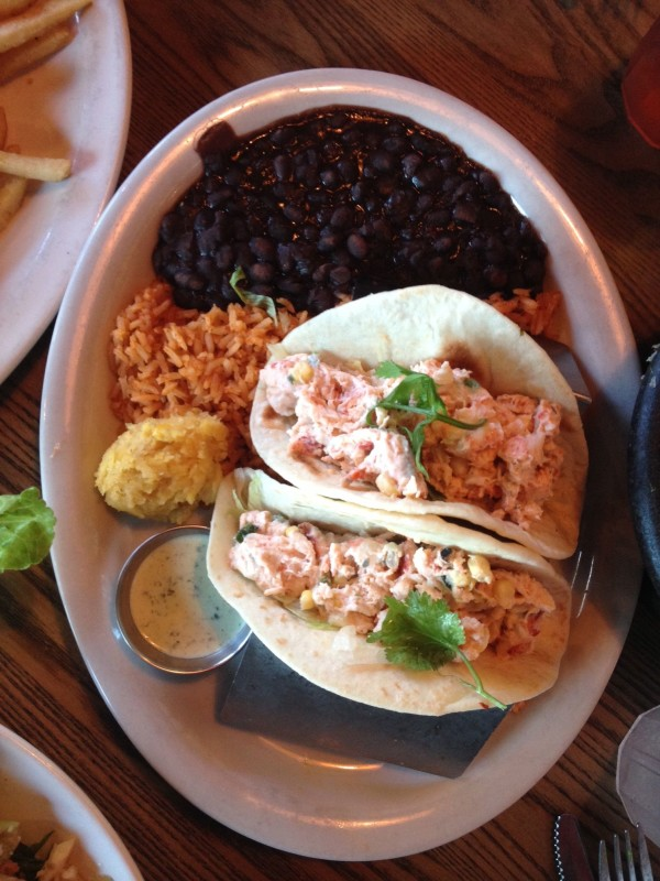 Chevys Fresh Mex Lobster Tacos