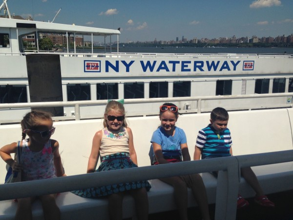 NYWaterway on ferry