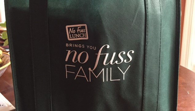 No Fuss Dinner with No Fuss Family