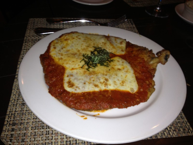 The BEST chicken parm -- Il Mulino