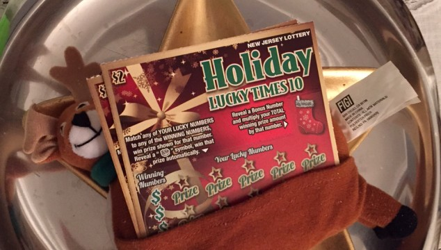 Happy Christmas Memories with NJ Lottery Holiday Scratch Offs {Dedicated}