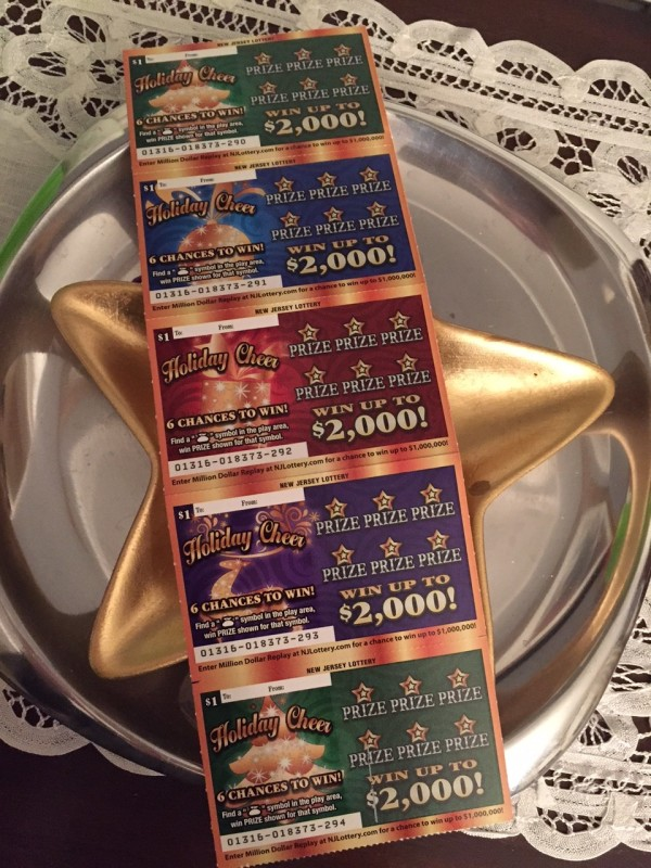 NJ Lotto Holiday Scratch Offs