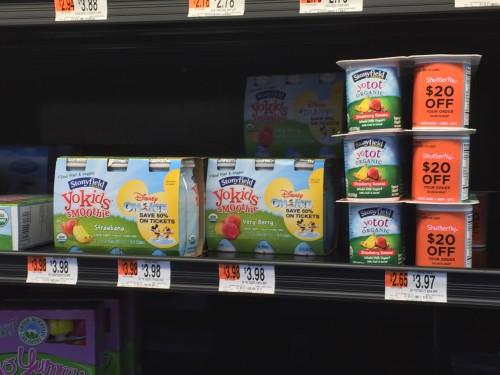 Stonyfield Yogurt 3