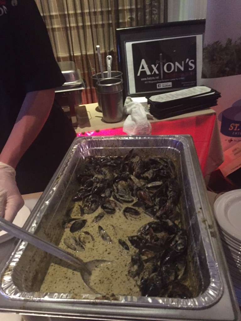 Mussels in Cream Sauce from Axton's