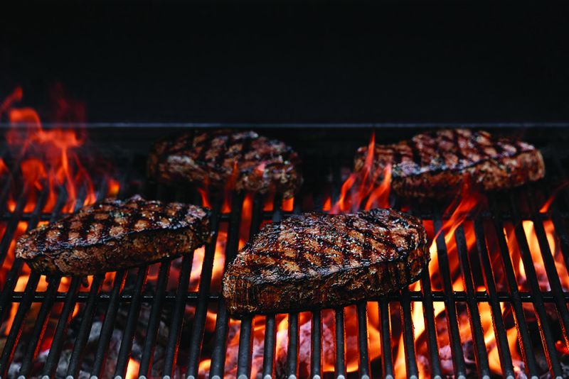 Steaks on the American Oak Wood Fired Grill at Applebee's (photo: courtesy of Applebee's)