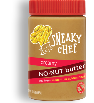 News Worth Spreading for Nut Allergy Families: Sneaky Chef No-Nut Butter is the Real Deal