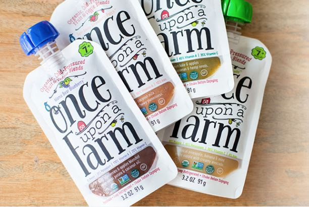 Just fresh, whole ingredients picked in season. Truly feel-good food for little growing bodies, and makes a nice complement to the Stonyfield YoBaby yogurt ...